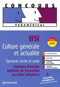 Valérie Béal et Marie Péan - IFSI Culture générale et actualité, Epreuves écrite et orale - Concours d'entrée instituts de formation en soins infirmiers.