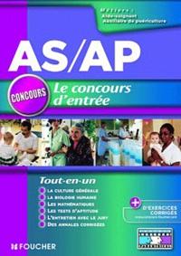 Le concours dentrée AS/AP - Aide-soignant, Auxiliaire de puériculture.pdf