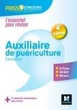 Valérie Béal et Anne-Laure Moignau - Pass'Concours Auxiliaire de puériculture - AP - Entrée en IFAP - 4e éd Révision et entrainement PDF.