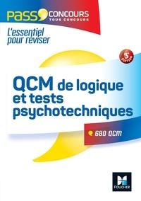 Valérie Béal et Michèle Eckenschwiller - Pass'Concours QCM de logique et Tests psychotechniques - Concours Fonction Publique - 3e édition.