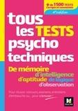 Valérie Béal et Valérie Bonjean - Tous les tests psychotechniques.