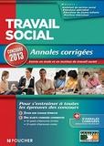 Valérie Béal et Noëlle Hiver - Travail social - Annales corrigées.