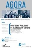Valérie Becquet - Agora Débats/Jeunesse N° 42 : Politiques publiques de jeunesse en Europe.