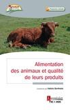 Valerie Berthelot - Alimentation animale et qualité des denrées animales.