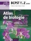 Valérie Boutin et Laurent Geray - Atlas de biologie BCPST 1re et 2e années.