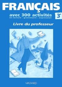 Francais 3eme Livre Du Professeur Broche