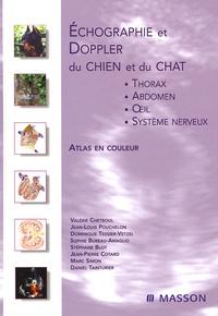 Deedr.fr Echographie et Doppler du chien et du chat - Thorax, abdomen, oeil et système nerveux ; Atlas en couleur Image
