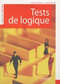 Valérie Clisson et Arnaud Duval - Tests de logique.