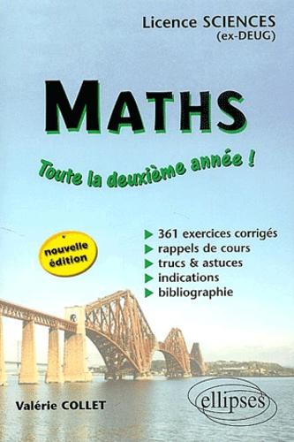 Valérie Collet - Maths Licences sciences - 2ème année.