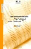 Valérie Comte-Trotet et Stéphane Gonçon - Les consommations d'énergie dans l'industrie - Edition 2002.
