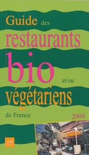 Histoiresdenlire.be Guide des restaurants et tables d'hôtes bio et / ou végétariens de France Image