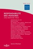 Valérie de Poulpiquet - Responsabilite des notaires - Civile, disciplinaire, pénale.