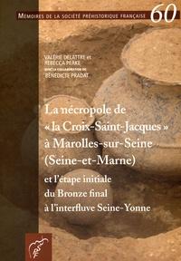 """Valérie Delattre et Rebecca Peake - La nécropole de """"la Croix-Saint-Jacques"""" à Marolles-sur-Seine (Seine-et-Marne) et l'étape initiale du Bronze final à l'interfluve Seine-Yonne."""