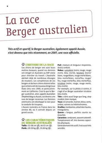 Bien vivre avec mon Berger australien. Education, comportement, soins