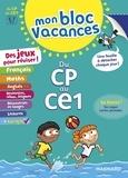 Valérie Faggiolo et Elodie Gremaud - Mon bloc vacances - Du CP au CE1.
