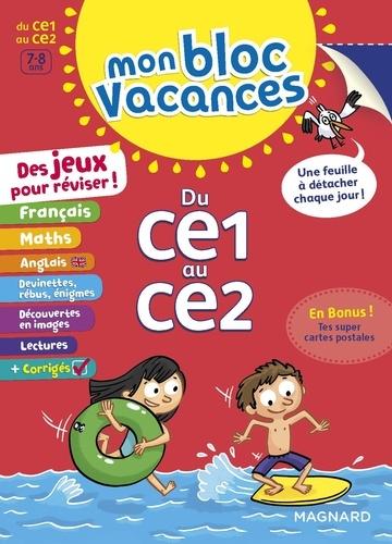 Mon Bloc Vacances Du Ce1 Au Ce2 Grand Format