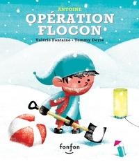 Valérie Fontaine et Julie Hamelin - Opération flocon - Collection Fonfon audio.
