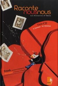 Valérie Gonon et Anne-Isabelle Ginisti - Raconte nous nous - Les histoires d'Amou. 1 CD audio