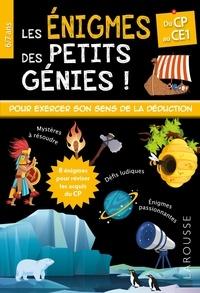 Valérie Herman - Les énigmes des petits génies ! - Du CP au CE1.