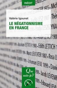 Téléchargement gratuit du programme de téléchargement de livres Le négationnisme en France  9782715400931