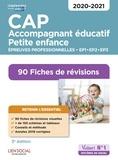 Valérie Jacob et Virginie Châteaureynaud - CAP accompagnement éducatif petite enfance - 90 Fiches de révisions Epreuves professionnelles EP1, EP2 et EP3.