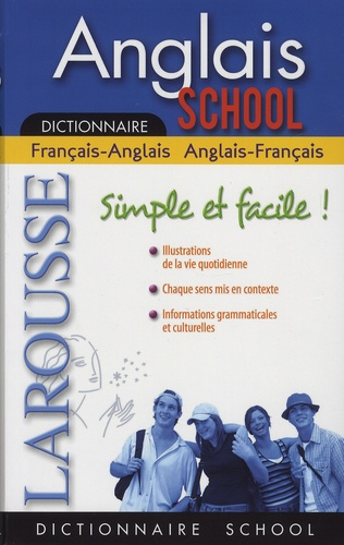 Valérie Katzaros - Dictionnaire Anglais School - Français-anglais / anglais-français.