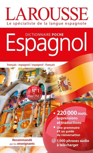 Valérie Katzaros - Dictionnaire de poche Espagnol - Français-espagnol / espagnol-français.