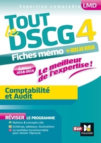 Valérie Keller et Sébastien Paugam - Tout le DSCG 4 - Comptabilité et Audit - Entrainement et révision - 2e édition.