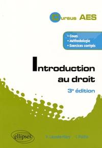 Valérie Lacoste-Mary et Irène Politis - Introduction au droit.
