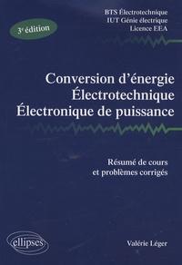 Conversion dénergie, Electrotechnique, Electronique de puissance - Résumé de cours, problèmes corrigés.pdf