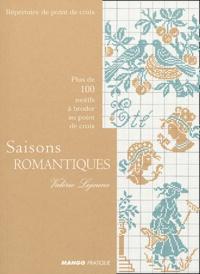 Valérie Lejeune - Saisons romantiques - Plus de 100 motifs à broder au point de croix.