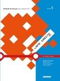 Valérie Lemeunier et Ilham Binan - Ligne directe A1 niveau 1. 1 CD audio