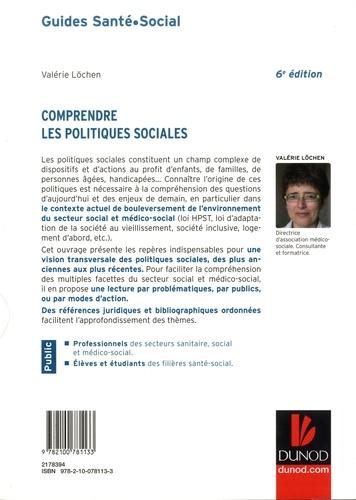 Comprendre les politiques sociales 6e édition