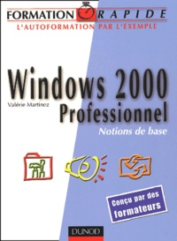 Windows 2000 Professionnel. Notions de base.pdf