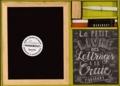 Valerie McKeehan - Le petit livre des lettrages à la craie - Contient : 1 livre, 1 ardoise, 1 bâton de craie, 2 feutres craies, 1 éponge.