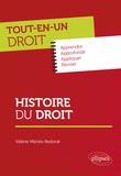 Valérie Ménès-Redorat - Histoire du droit.