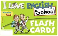 Valérie Menneret - Anglais CM2 I Love English School - Flashcards.