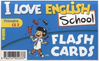 Valérie Menneret - I Love English School CE2 - Flashcards.