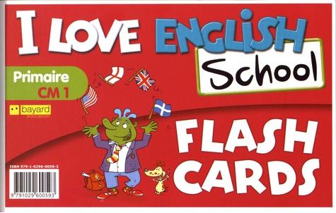 Valérie Menneret - I Love English School CM1 - Flash Cards.
