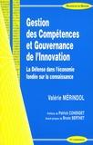 Valérie Mérindol - Gestion des compétences et gouvernance de l'innovation - La Défense dans l'économie fondée sur la connaissance.