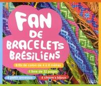 Valérie Paris - Fan de bracelets brésiliens - Inclus 8 fils de coton, 6 charm's bijoux, 6 anneaux.