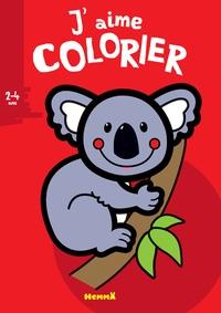 Valérie Pernot - J'aime colorier koala.