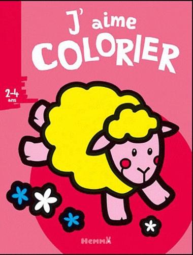 Valérie Pernot - J'aime colorier (mouton) - 2-4 ans.