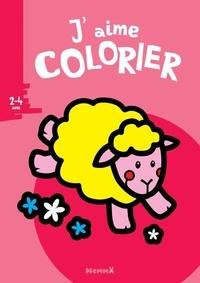 Valérie Pernot - J'aime colorier Mouton.