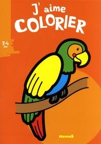 Valérie Pernot - J'aime colorier perroquet.
