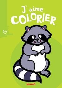 Valérie Pernot - J'aime colorier Raton laveur.