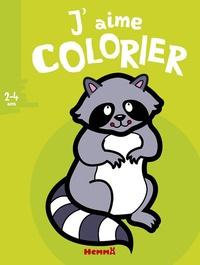 Valérie Pernot - J'aime colorier raton.