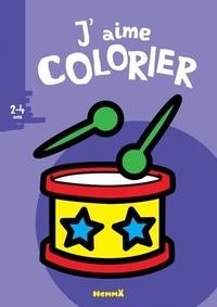 Valérie Pernot - J'aime colorier Tambour.