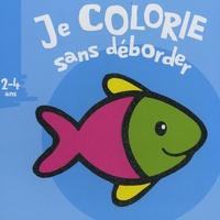 Valérie Pernot - Je colorie sans déborder, Poisson - 2- 4 ans.
