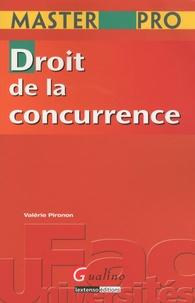 Valérie Pironon - Droit de la concurrence.